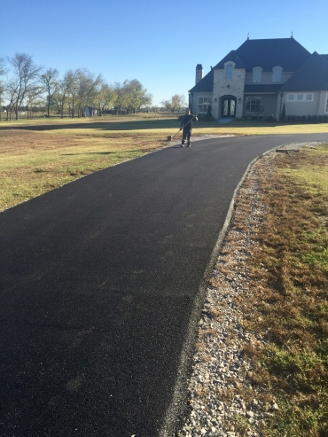 asphalt paving in Bixby